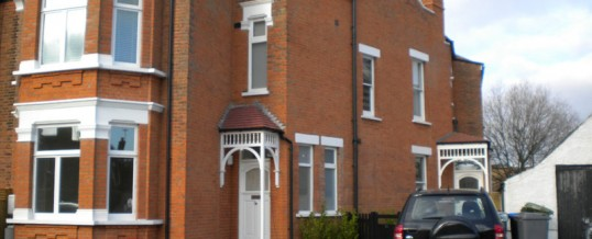 Three-storey house in Chatsworth Road, London NW2