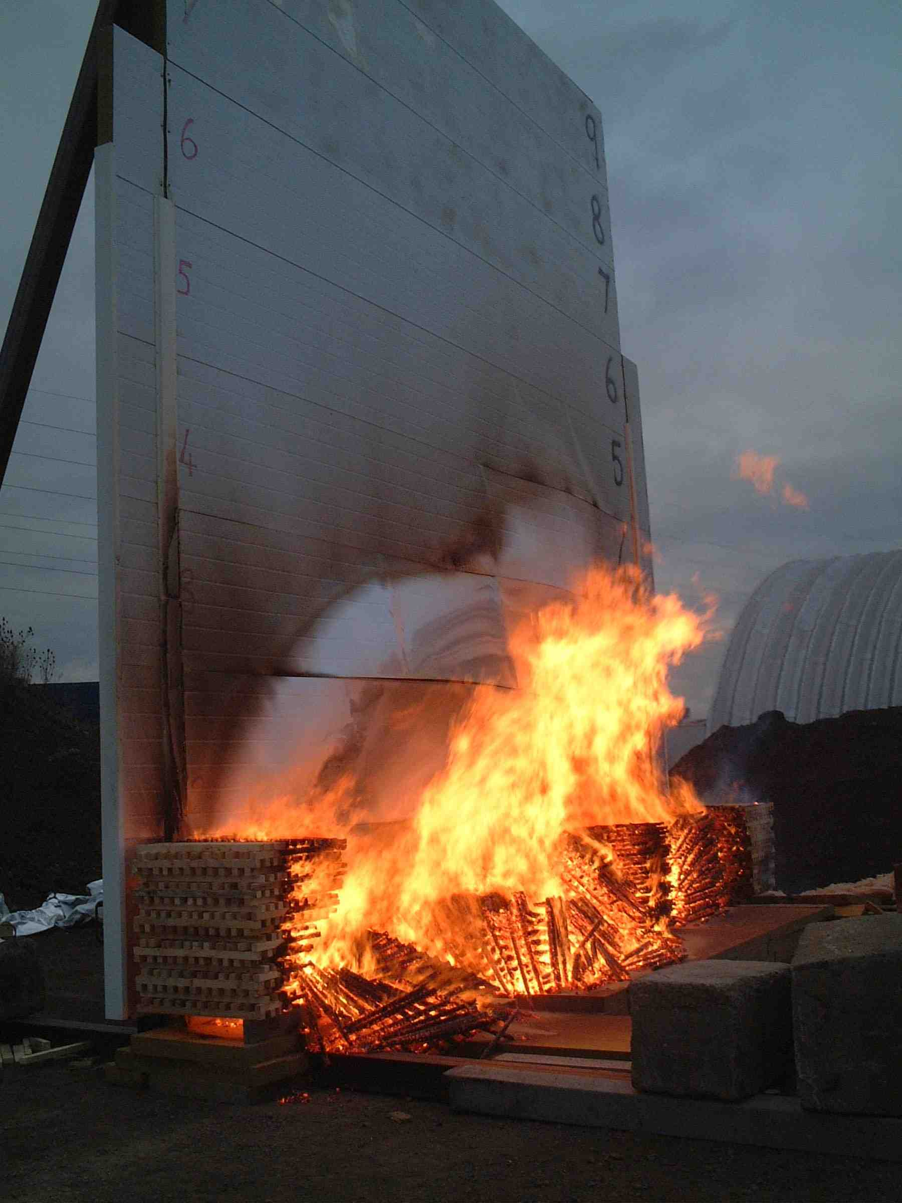 Fire Barrier Panels : Fire wall consultancy projects
